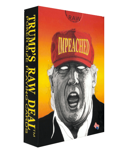 One Trumps Raw Deal Playing Card Deck